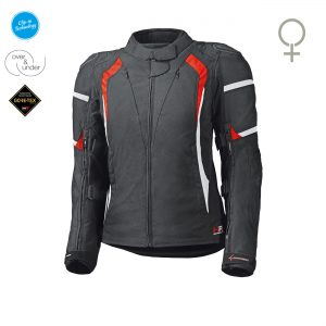 held-luca-motorjas-dames-zwart-rood