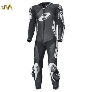 Held Full-Speed 1-piece race-spec suit Zwart/Wit