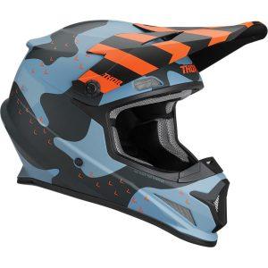 Thor Sector Mosser Helmet Blue Camo