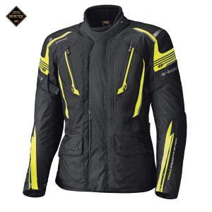 Held Caprino Touring Jacket Zwart Fluoricerend Geel