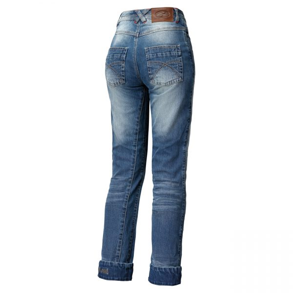 Held Crackerjane II Ladies Biker jeans Blauw