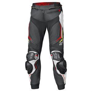 Held Grind II Leather pants Zwart Wit Rood
