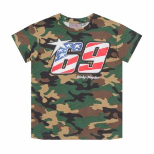 Nicky Hayden camo T-shirt Kids