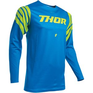 Thor Prime Pro Strut Electric Blue/Acid Jersey