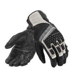 Rev'it Handschoenen Sand 3 Zilver/Zwart