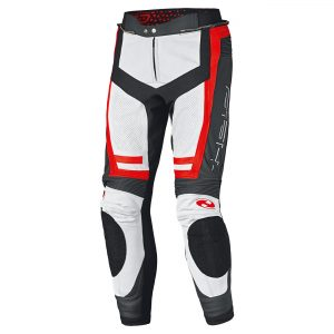 Held Rocket 3.0 Leather pants Wit/Rood