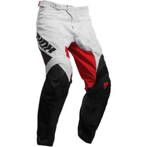 Thor Pulse Air Factor White/Red Pants
