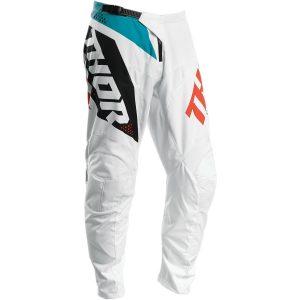 Thor Sector Blade White/Aqua Pants