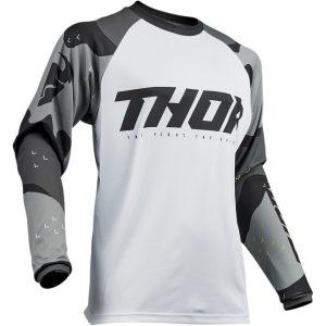 Thor Sector Camo Gray Jersey