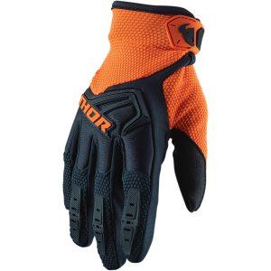 Thor Spectrum Midnight/Orange Gloves