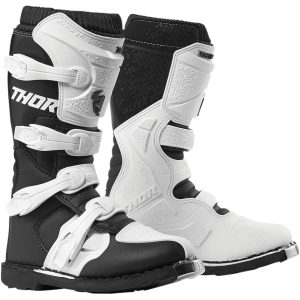 Thor Women's Blitz XP Black/White Boots