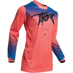 Thor Women's Pulse Fader Coral Jersey