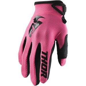 Thor Women's Sector Pink Gloves