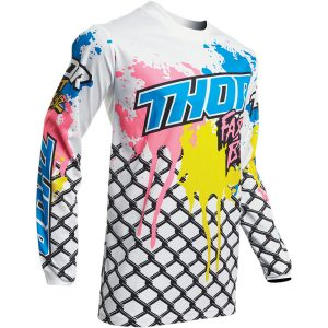 Thor Youth Pulse Fast Boyz White Jersey